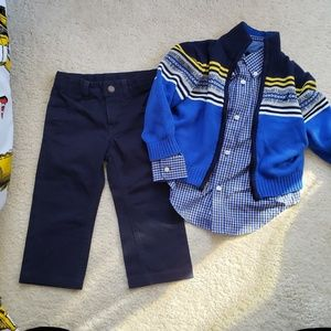 Chaps 3 pc outfit